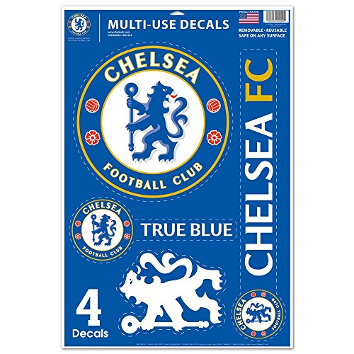 WinCraft SOCCER Chelsea FC WCR25644014 Multi-Use Decal, 11'' x 17'' by WinCraft