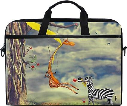 Animal in Sky Cross Body Shoulder Messenger Laptop Bag