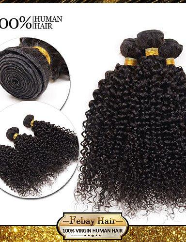 Noir Humaine 28 Faisceaux Afro Naturelle Crépus Black 24 Cheveux Brésiliennes De 26 Vierge Jff 7a Mongol Bouclés 3 100 natural q7B07fw