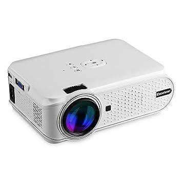 Excelvan EHD02 - Mini Proyector Portatil LED 1080P (1000 Lumenes ...