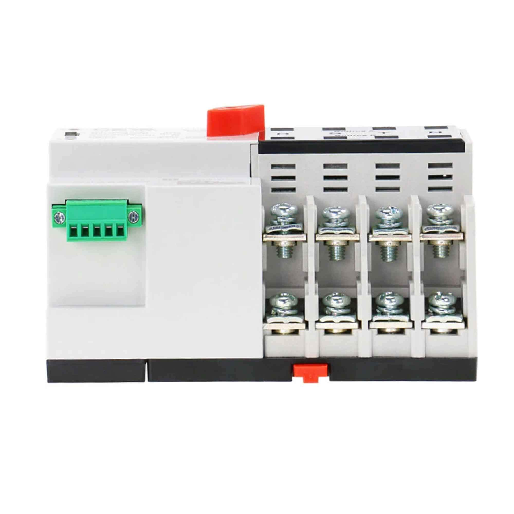 GAEYAELE W2R Mini ATS 4P Automatic Transfer Switch Controller Electrical Type ATS Max 100A 4POLE (W2R-4P 100A) by GAEYAELE (Image #4)