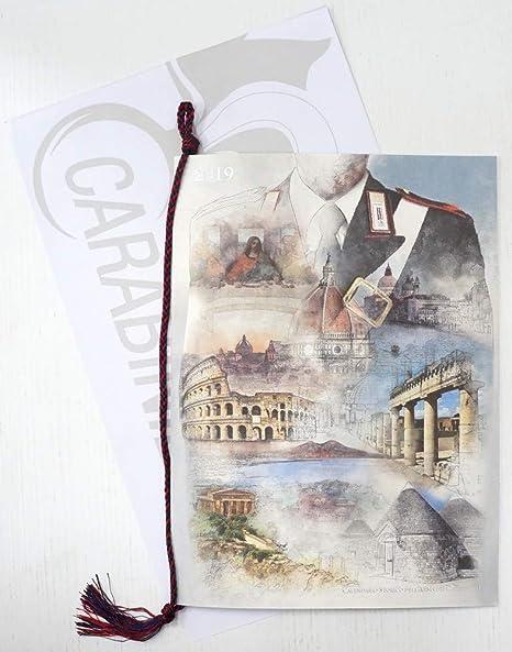 Calendario Carabinieri Prezzo.Calendario Arma Dei Carabinieri Anno 2019 Amazon It