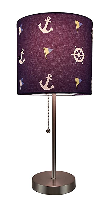 Delicieux Stainless Steel Table Lamps Scratch U0026 Dent Nautical Stainless Steel Accent  Lamp (No Lamp Shade