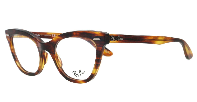 9f3c232b0a Ray-Ban Glasses 5226 2144 Havana 5226 Cats Eyes Sunglasses  Amazon.co.uk   Clothing