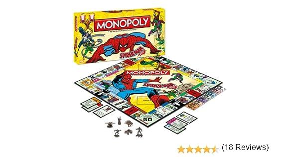 Spiderman Monopoly Board Game: Spiderman Monopoly: Amazon.es: Juguetes y juegos