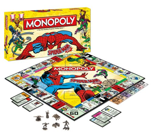 Monopoly Spider (Monopoly: Spider-Man Collector's Edition)