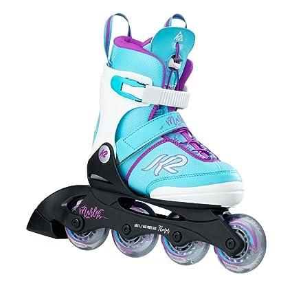 c73817476cd Amazon.com : K2 Skate Marlee Pro, Blue, 4-8 : Sports & Outdoors