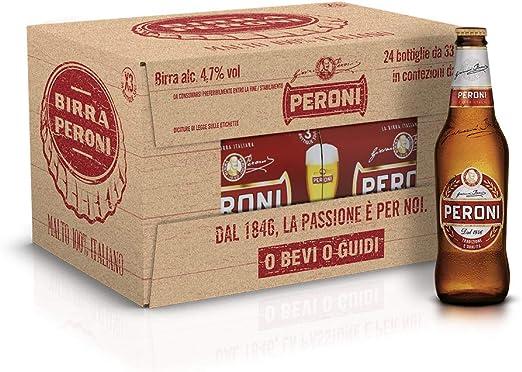 PERONI CERVEZA PERONI CL 33 PACK DE 24 BT: Amazon.es: Hogar