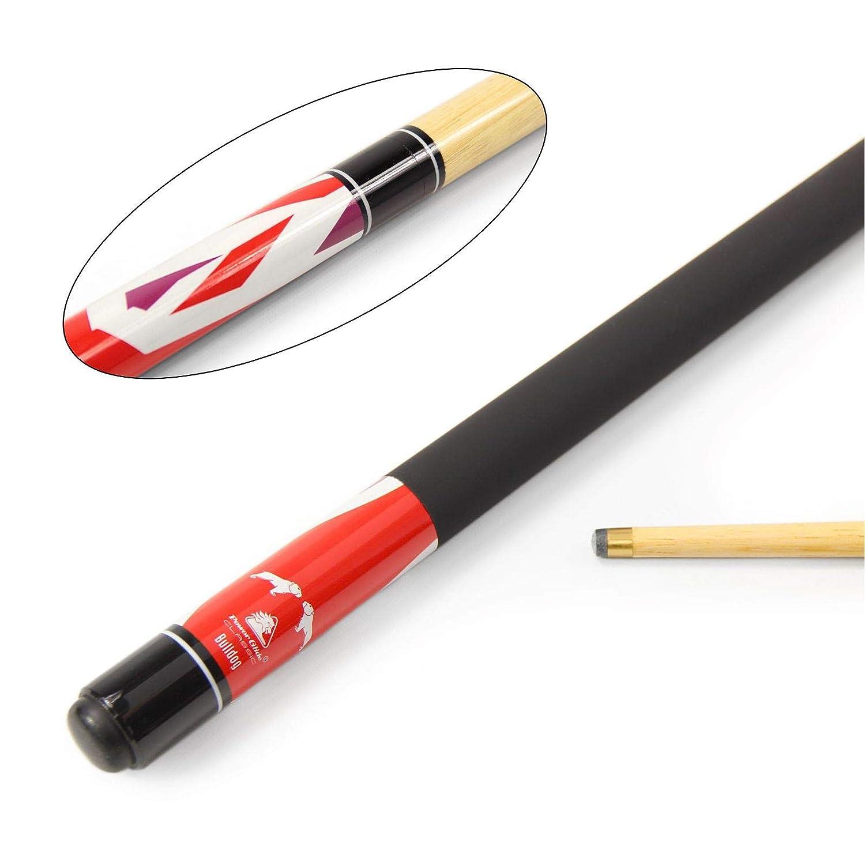 "48/"" Kids Short Pool Cue Stick w// Colorful Firework Design /& 12mm Leather Tip"