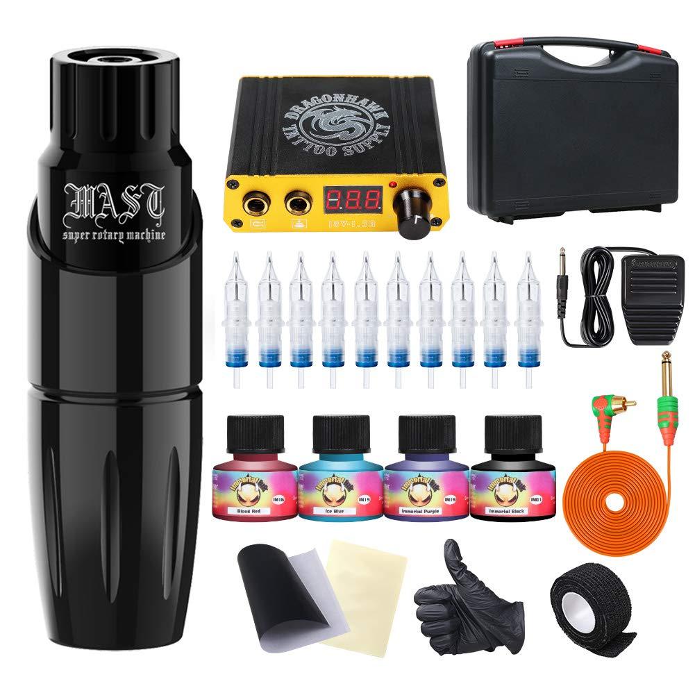 Dragonhawk Mast Rotary Tattoo Machine kit Reviews