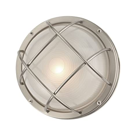 Marine bulkhead round outdoor wallceiling light 10 inches wide marine bulkhead round outdoor wallceiling light 10 inches wide aloadofball Image collections
