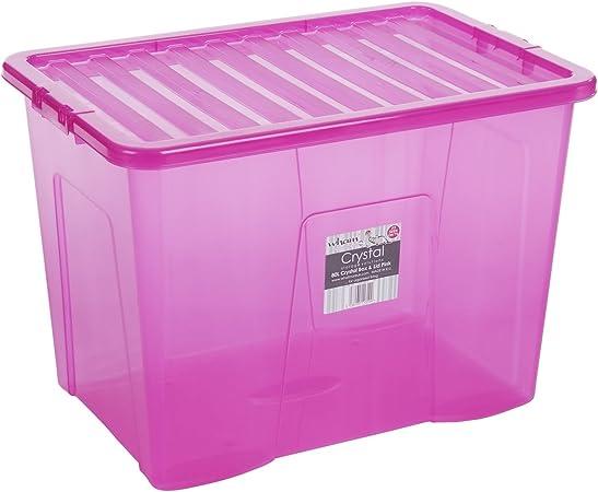 LEBENSMITTELECHT Aufbewahrungsbox Lagerbox Box mit Deckel Tragegriff Stapelbox
