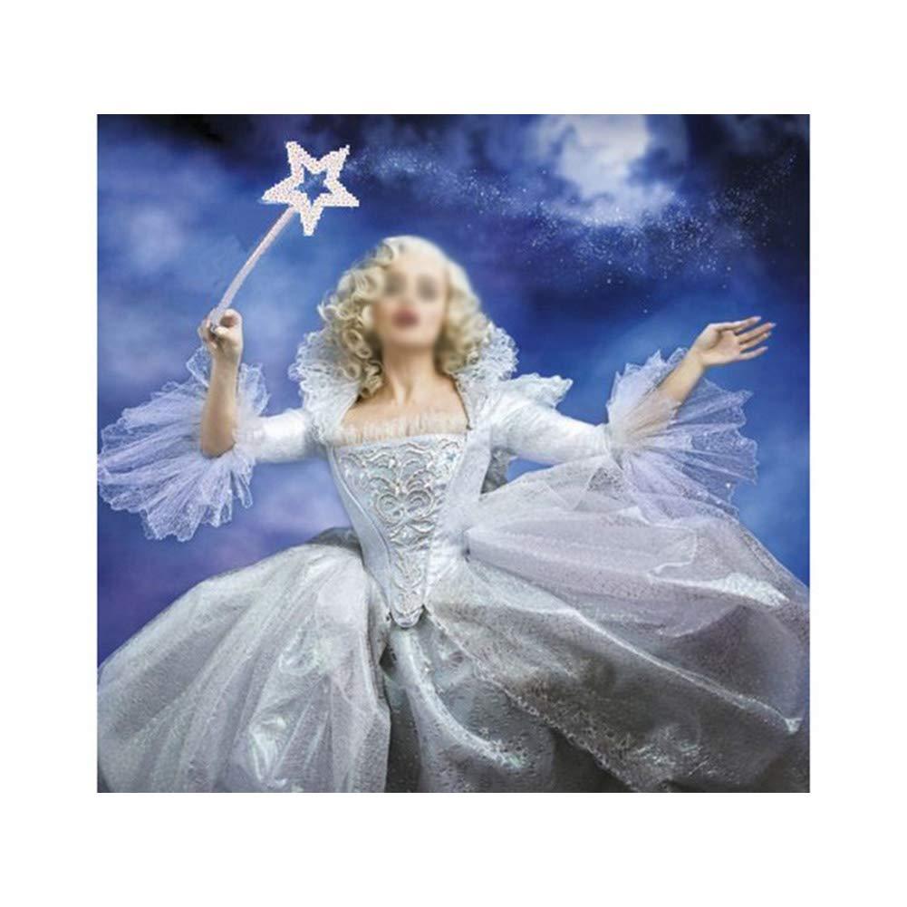 Toy Fun pour Les Enfants NiceButy 1pc Mini F/ée Sequin /étoile Baguette Handhelds Party Favors pour Les Enfants Anniversaire Princesse Costume Arc-en-