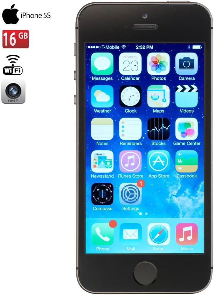 Apple Iphone 5S 16Gb Verizonunlocked Smartphone grau (Renewed)