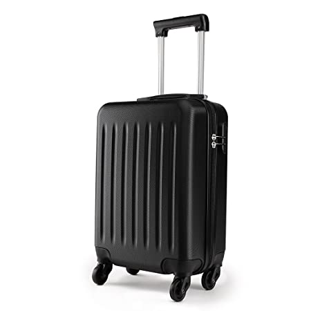 Kono 19 Inch Carry On Luggage Lightweight Abs 4 Wheel Spinner