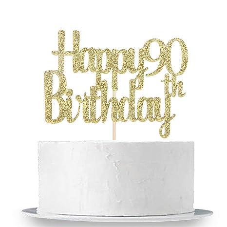 Amazon.com: Innoru - Decoración para tartas de cumpleaños ...