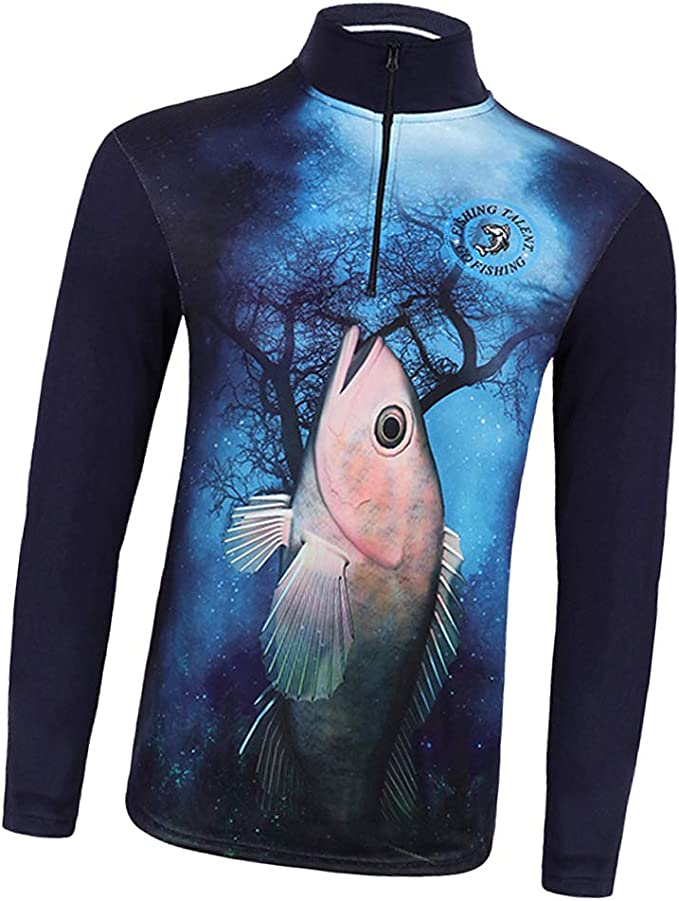 P Prettyia Camisa de Pesca Sudadera Protector Quick Dry Sun Camiseta UPF 50+ Ropa anti-UV: Amazon.es: Ropa y accesorios