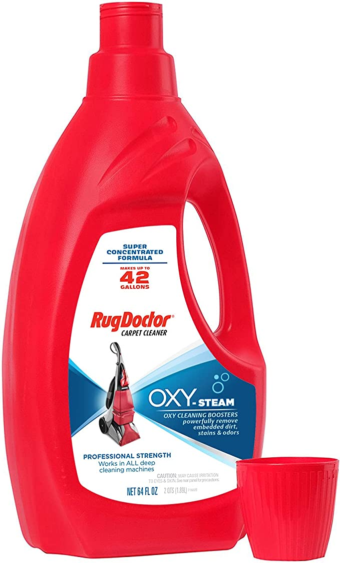 Rug Doctor Deep Cleaner Powerful, Professional-Grade, Deodorizes and Refreshes Carpet Cleaning Solution