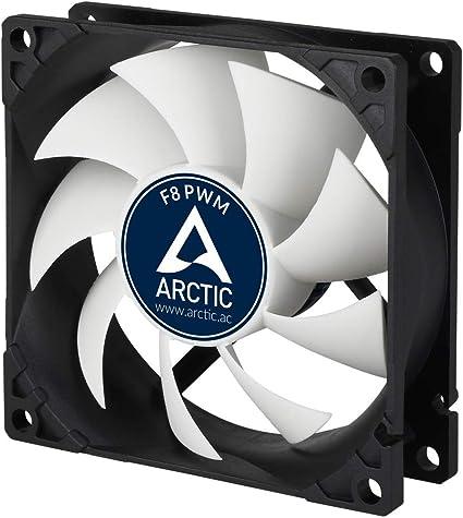 ARCTIC F8 PWM – 80 mm Ventilador de Caja para CPU con PWM Sharing ...