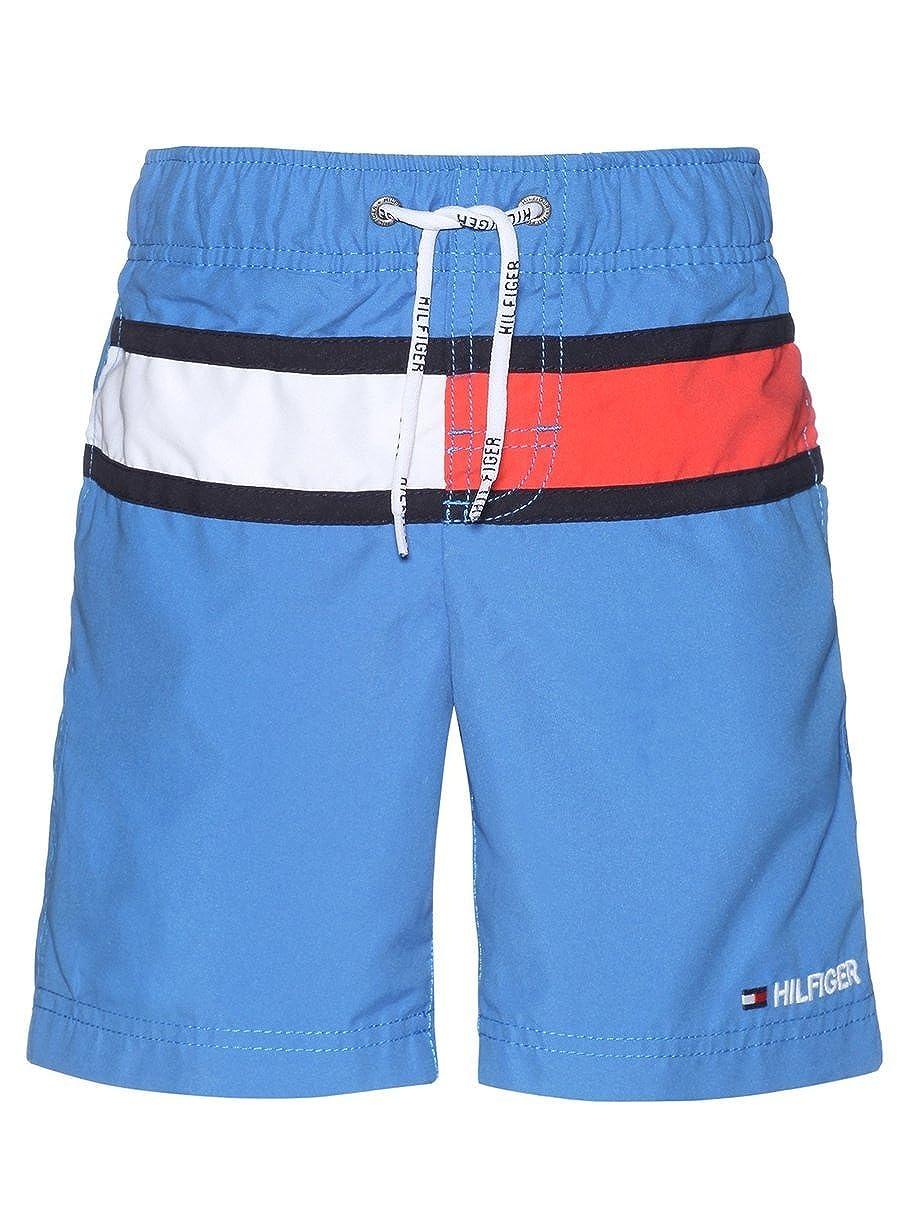 a0bb50ea0 Tommy Hilfiger Boy s Flag Swim Shorts  Amazon.co.uk  Clothing