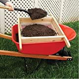 A.M. Leonard Wheelbarrow Sifter for Compost and Soil, Handmade