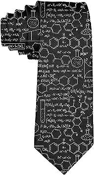 Corbata de fórmula química para hombres Corbata de seda de ...