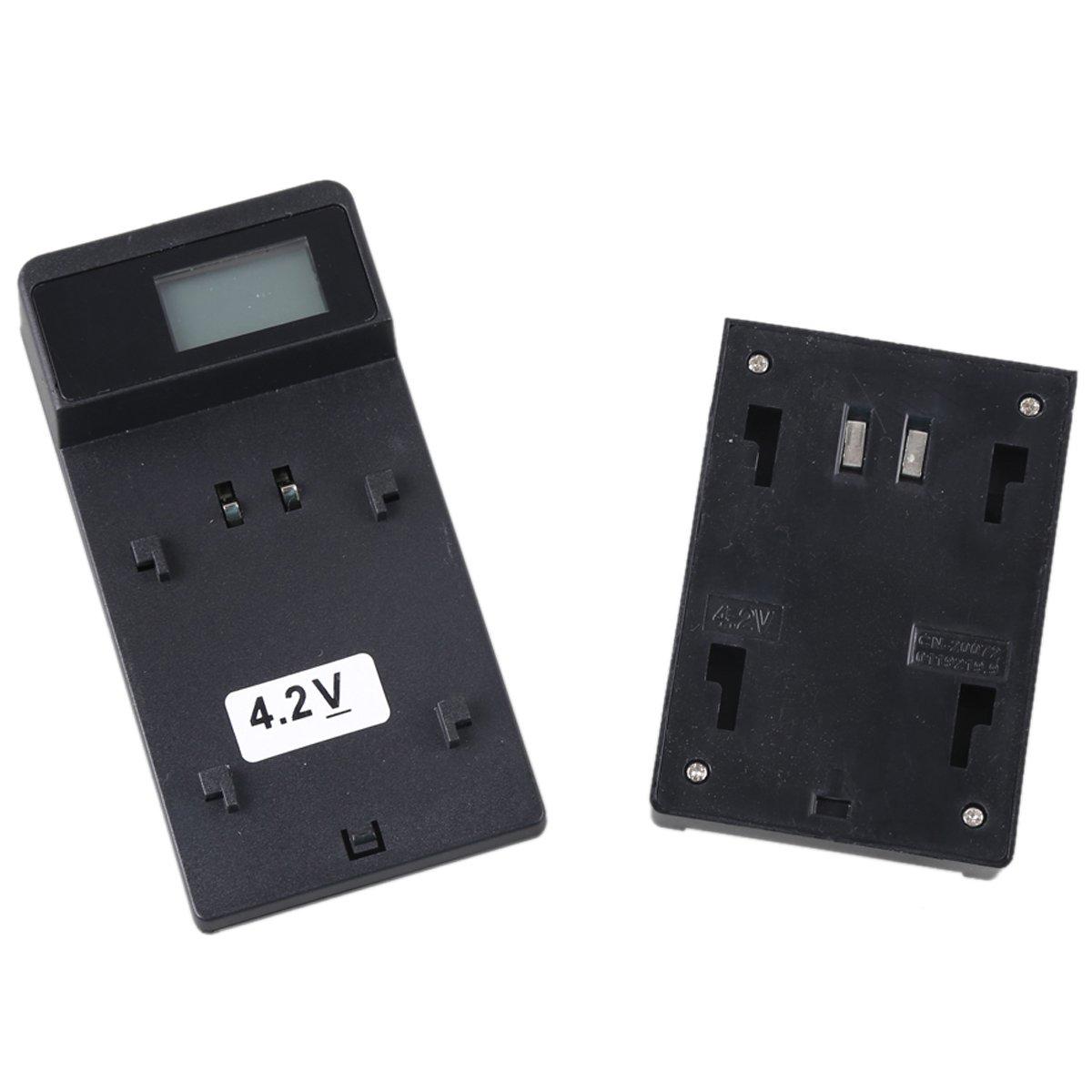 LCD Slim Micro USB Rapid Travel Battery Charger for Sony DCR-SR40 DCR-SR60 DCR-SR80 DCR-SR100 Handycam Camcorder