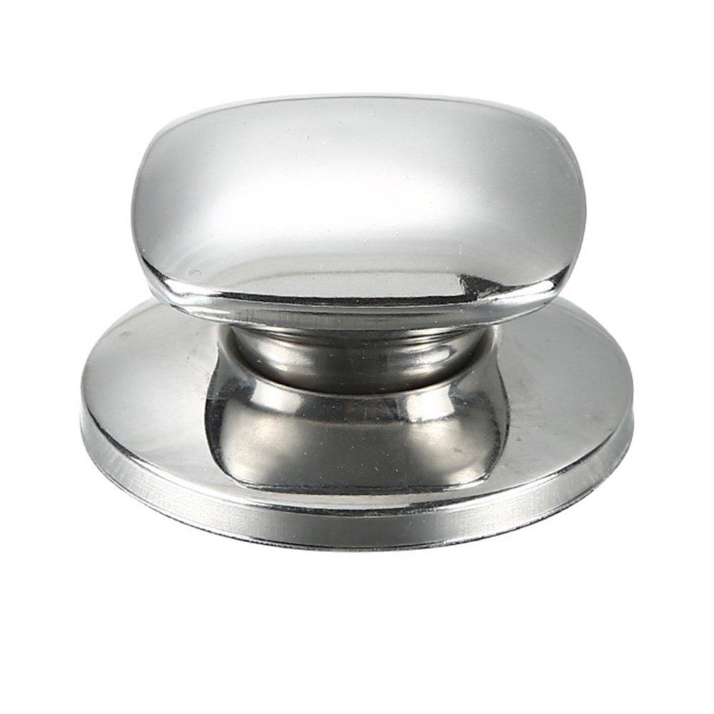 LYCOS3 Couvercle Universel en Acier Inoxydable de Forme carr/ée pour casseroles de Cuisine avec poign/ée pour la Cuisine