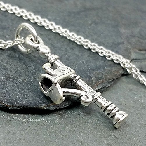 Mailbox Necklace - 925 Sterling Silver
