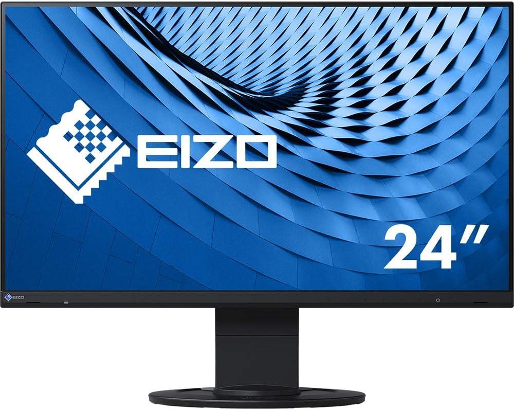 Eizo Flexscan Ev2460 Bk Ultra Slim Monitor 60 5 Cm Computers Accessories