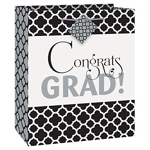 Medium Quatrefoil Graduation Gift Bag