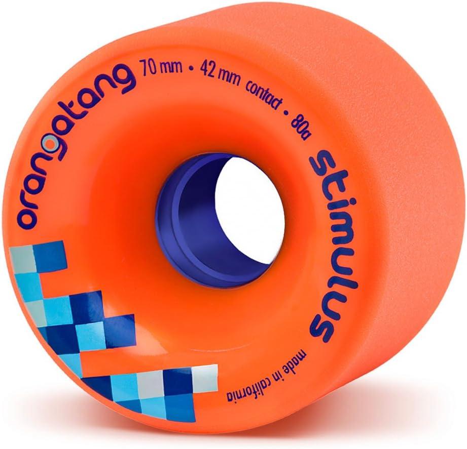 Orangatang Stimulus 70mm Freeride Longboard Wheels