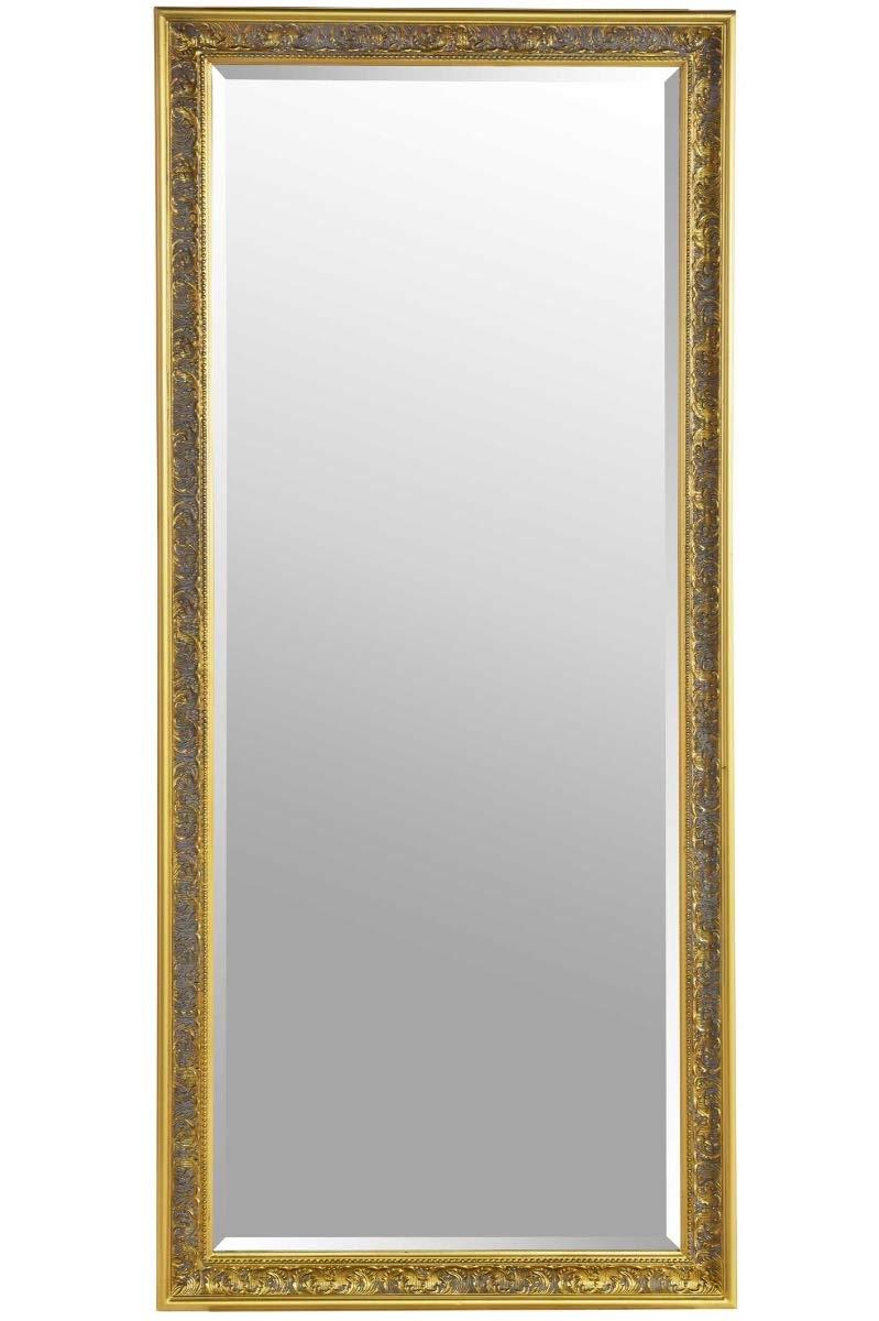 e2abfa59955 Large Shabby Chic Ornate Full Length Gold Wall Mirror 5ft4 x 2ft5   Amazon.co.uk  Kitchen   Home