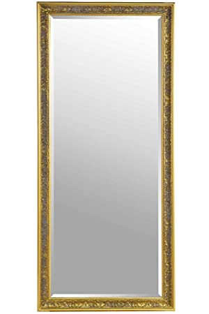Phenomenal Large Shabby Chic Ornate Full Length Gold Wall Mirror 5Ft4 X 2Ft5 Download Free Architecture Designs Scobabritishbridgeorg