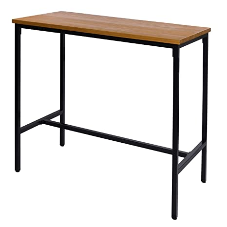Amazon Offerte Tavoli Da Giardino.Woltu Bt13hei Tavolo Da Bar Alto Tavolino Per Cucina Arredo Da