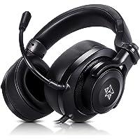Headset gamer fone de ouvido com microfone Adamantiun Heimdall V1 pc ps4 ps5 celular Xbox One series nintendo switch…