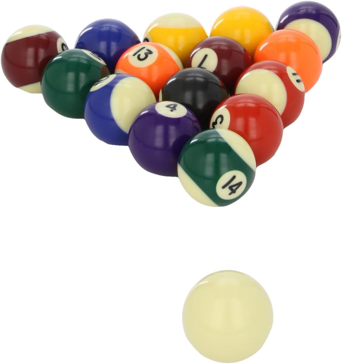 POWERGLIDE - Bolas de Billar (48 mm, 16 Unidades), Colores ...