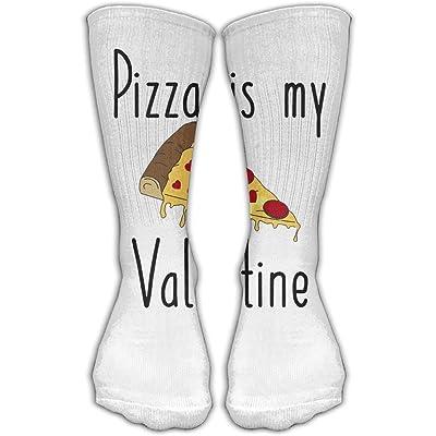 YUANSHAN Socks Pizza Valentine Women   Men Socks Soccer Sock Sport Tube  Stockings Length 11.8Inch 34810e182