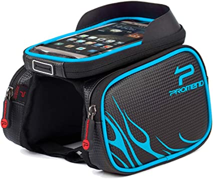 6.2 Inch Waterproof Touch Screen Bike Bag Front Frame Top CellPhone Mountain Bag