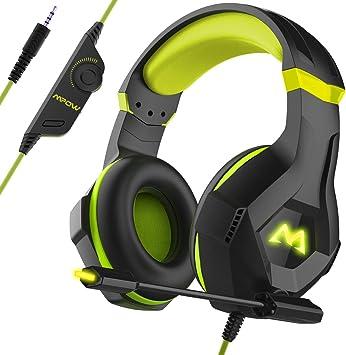 Mpow EG9 Auriculares Gaming PS4,Sonido Envolvente 40mm,Auriculares ...