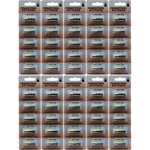 Powertron 27A 12V battery (50 pack batteries)