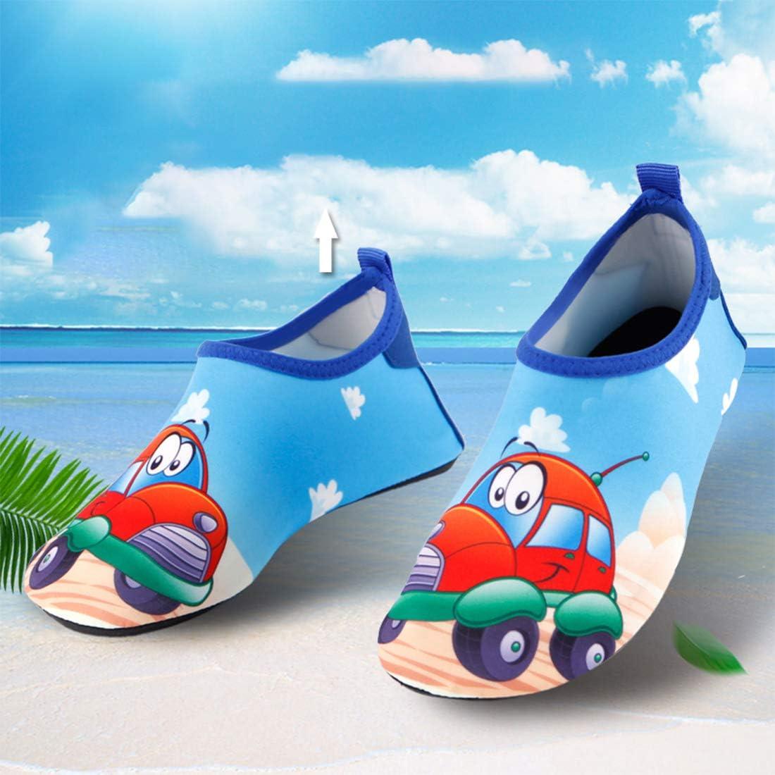 de secado r/ápido surf antideslizantes para ni/ños y ni/ñas Zapatillas de agua para ni/ños para surf Gwell