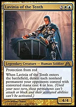 Magic The Gathering - Lavinia of The Tenth - DragonS Maze by: Amazon.es: Juguetes y juegos
