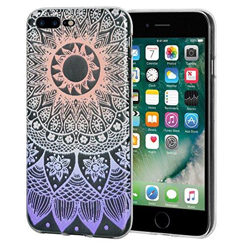"""Amzer Coque """"Mandala Ombre en gel souple en TPU pour Apple iPhone Transparent 7Plus"""