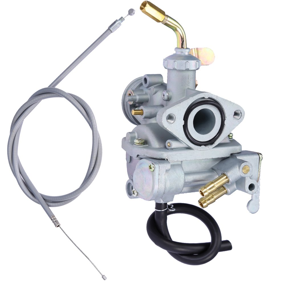 Carburetor Carb &Throttle Cable Set For Trail Bike Honda CT70 CT70H 1969-1977 NEW QKPARTS