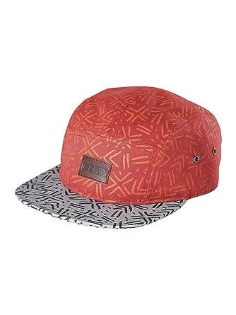 1b880ec8b20 Vans Men s Journal 5 Panel Hat OS Red  Amazon.co.uk  Clothing