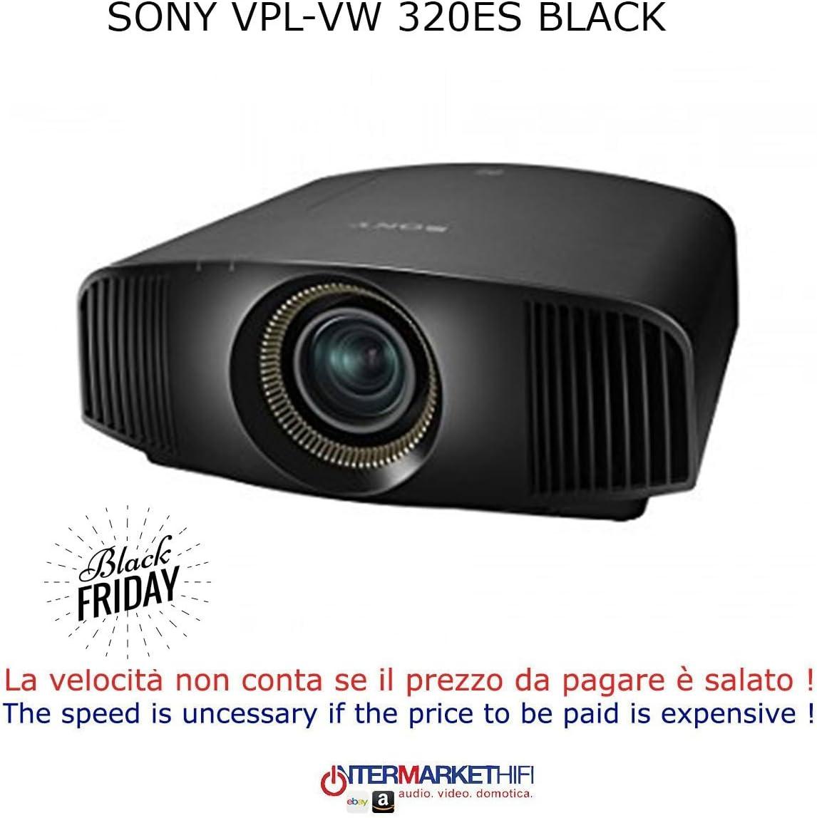 Sony vpl-vw 320es Black Videoproyector: Amazon.es: Electrónica
