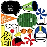 Big Dot of Happiness Sports Party - Photo Booth Props Kit - 20 Count