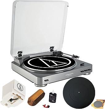 Amazon.com: Audio-Technica at-pl60usb Tocadiscos USB Premium ...