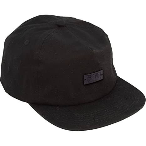 Amazon.com   Creature Skateboards Black Metal Black Snapback Hat ... 390be543019